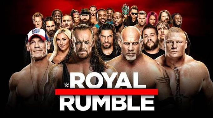 WWE: Royal Rumble at Minute Maid Park