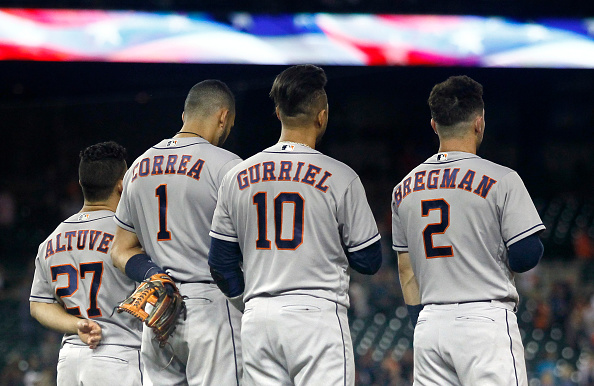 Houston Astros vs. Milwaukee Brewers at Minute Maid Park