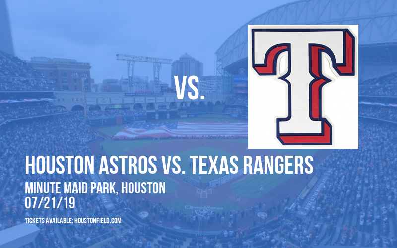 Houston Astros vs. Texas Rangers at Minute Maid Park