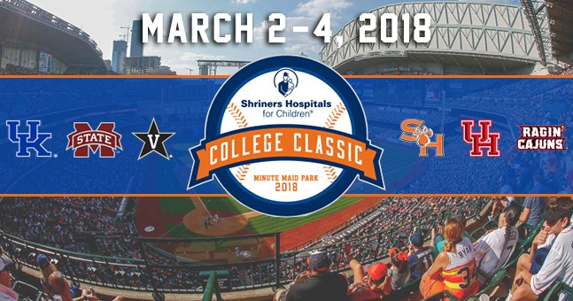 Shriners Hospitals For Children College Classic - Day 2 at Minute Maid Park