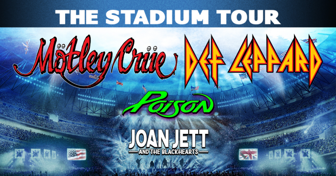 The Stadium Tour: Motley Crue, Def Leppard, Poison & Joan Jett and The Blackhearts at Minute Maid Park